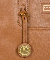 'Goldbourne' Tan Leather Handbag image 6