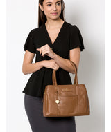 'Goldbourne' Tan Leather Handbag image 2