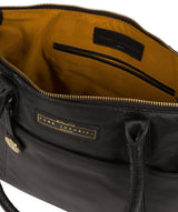 'Holne' Black & Gold Leather Tote Bag image 4