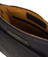 'Colton' Navy Leather Cross Body Bag image 4