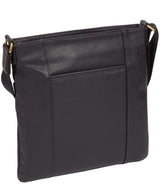 'Barnwell' Navy Leather Cross Body Bag image 3