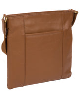 'Barnwell' Tan Leather Cross Body Bag image 3