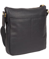'Mayfield' Navy Leather Cross Body Bag image 4