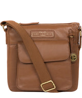 'Mayfield' Tan Leather Cross Body Bag image 1