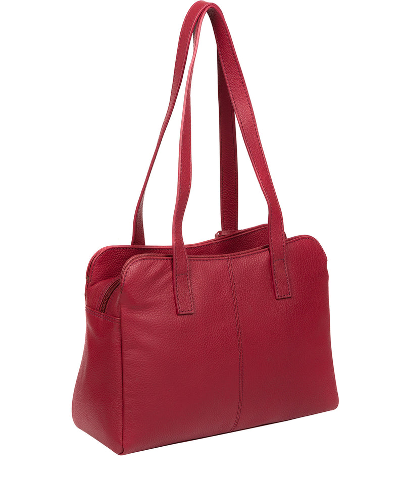 'Henna' Red Leather Handbag image 3