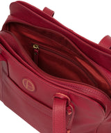 'Henna' Red Leather Handbag image 7