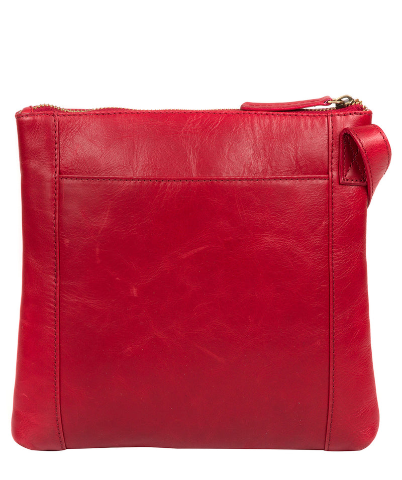 'Valley' Vintage Red Leather Cross Body Bag image 3