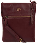 'Knook' Burgundy Leather Cross Body Bag image 1