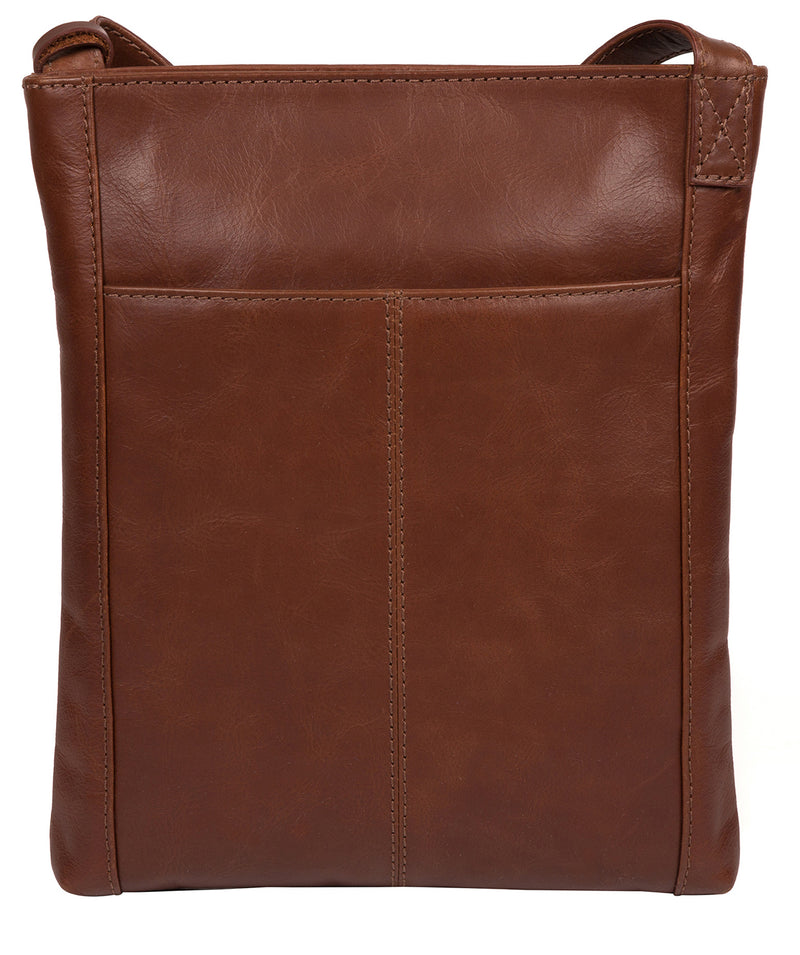 'Knook' Vintage Cognac Leather Cross Body Bag image 3
