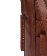 'Hanwell' Vintage Cognac Leather Shoulder Bag image 5