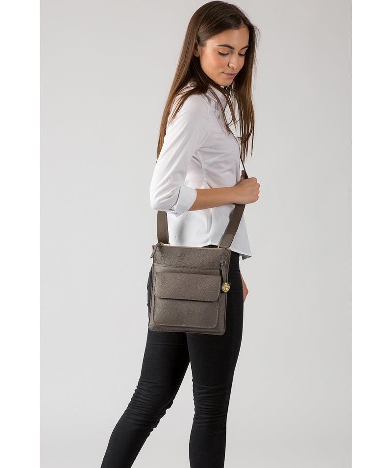 'Jarrow' Grey Leather Bag  image 2