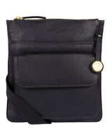 'Jarrow' Navy & Gold-Coloured Detail Bag