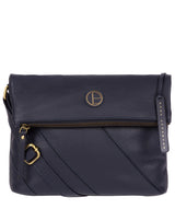 'Korin' Navy Leather Cross Body Bag image 1