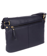 'Korin' Navy Leather Cross Body Bag image 3