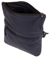 'Korin' Navy Leather Cross Body Bag image 4