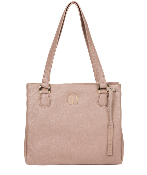 'Milana' Blush Pink Leather Handbag image 1