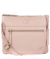 'Serenity' Blush Pink Leather Cross Body Bag image 1