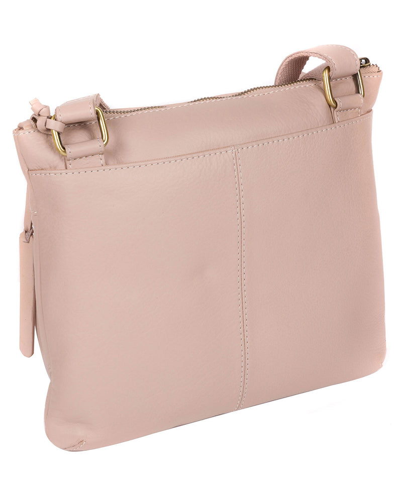 'Serenity' Blush Pink Leather Cross Body Bag image 3