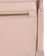 'Serenity' Blush Pink Leather Cross Body Bag image 5