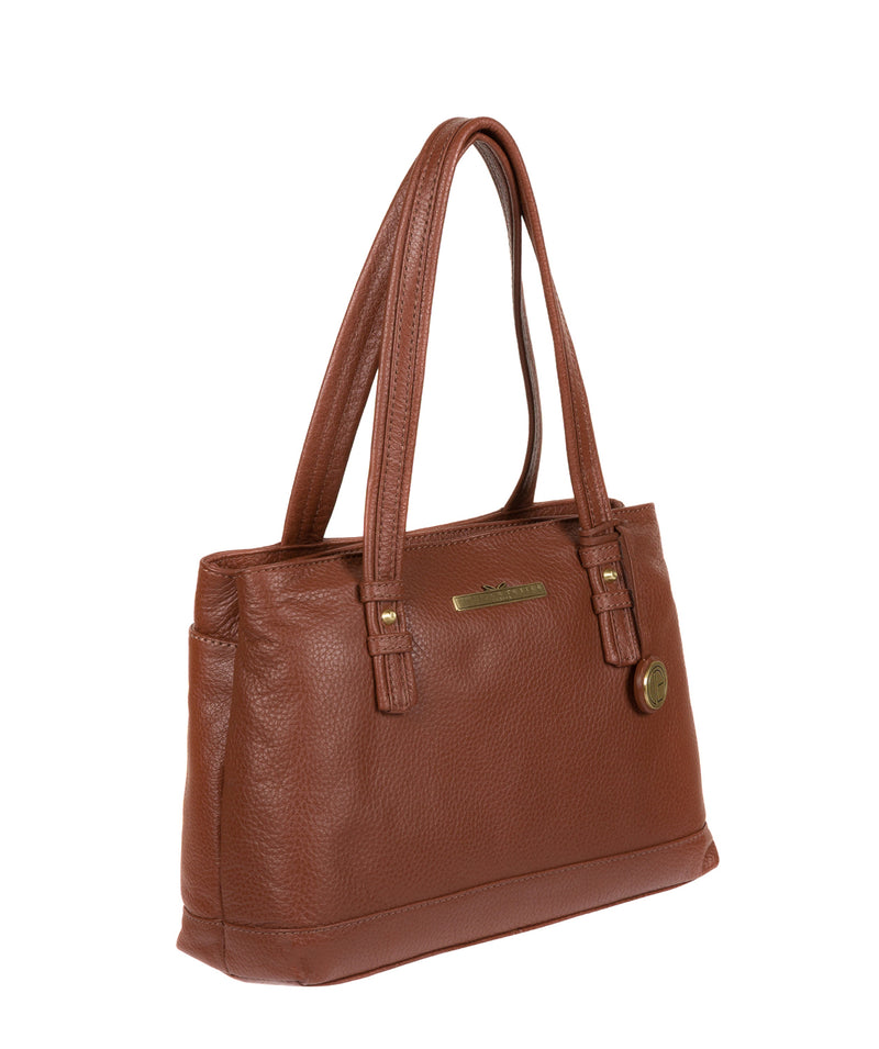 'Charity' Tan Leather Handbag