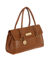 'Nicola' Tan Leather Handbag