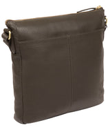 'Caroline' Olive Leather Cross Body Bag image 3