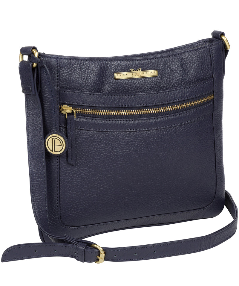 'Lily' Denim Leather Cross Body Bag image 3