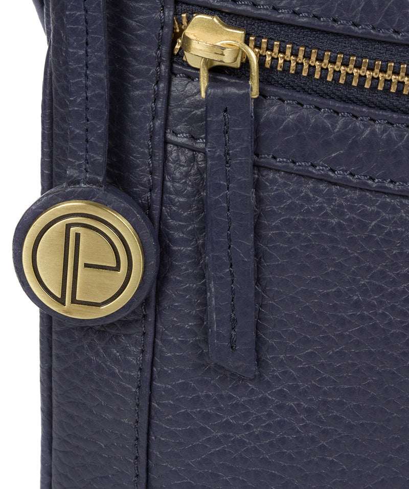 'Lily' Denim Leather Cross Body Bag image 6