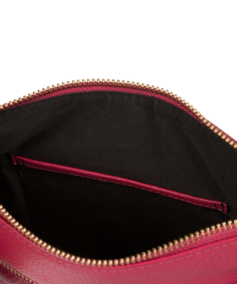 'Kaede' Berry Leather Cross Body Bag image 7