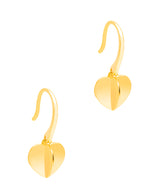 Copy of Gift Packaged 'Galilean' 925 Heart Drop Earrings