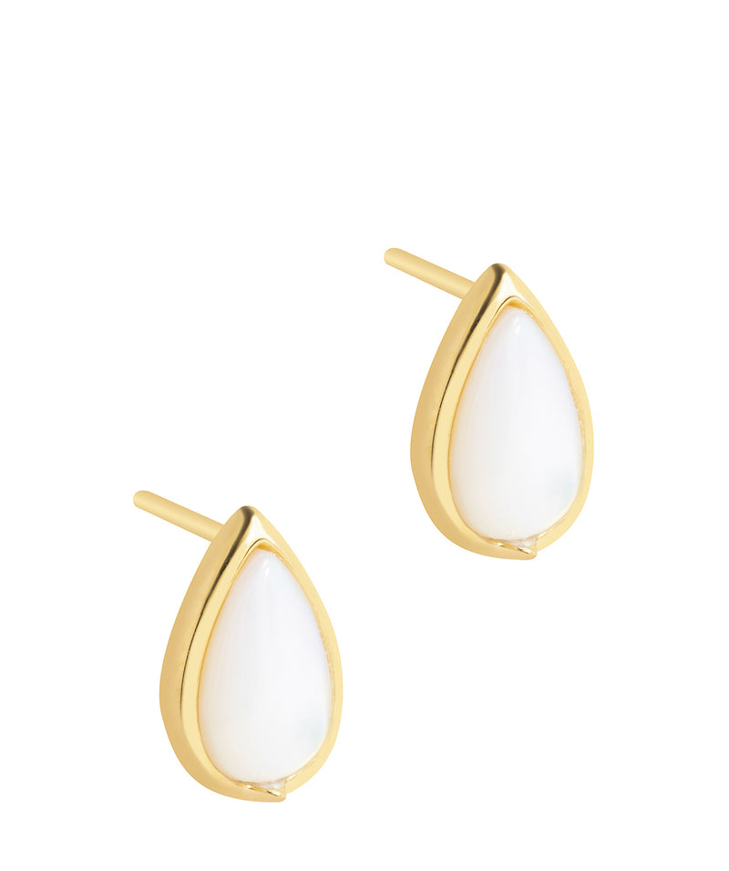 Gift Packaged 'Celine' 18ct Yellow Gold Plated 925 Silver Teardrop Earrings