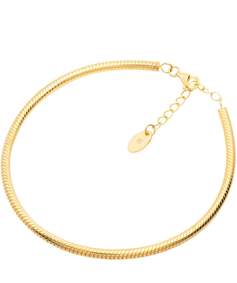 Gift Packaged 'Sosa' 18ct Yellow Gold Plated 925 Silver Bracelet