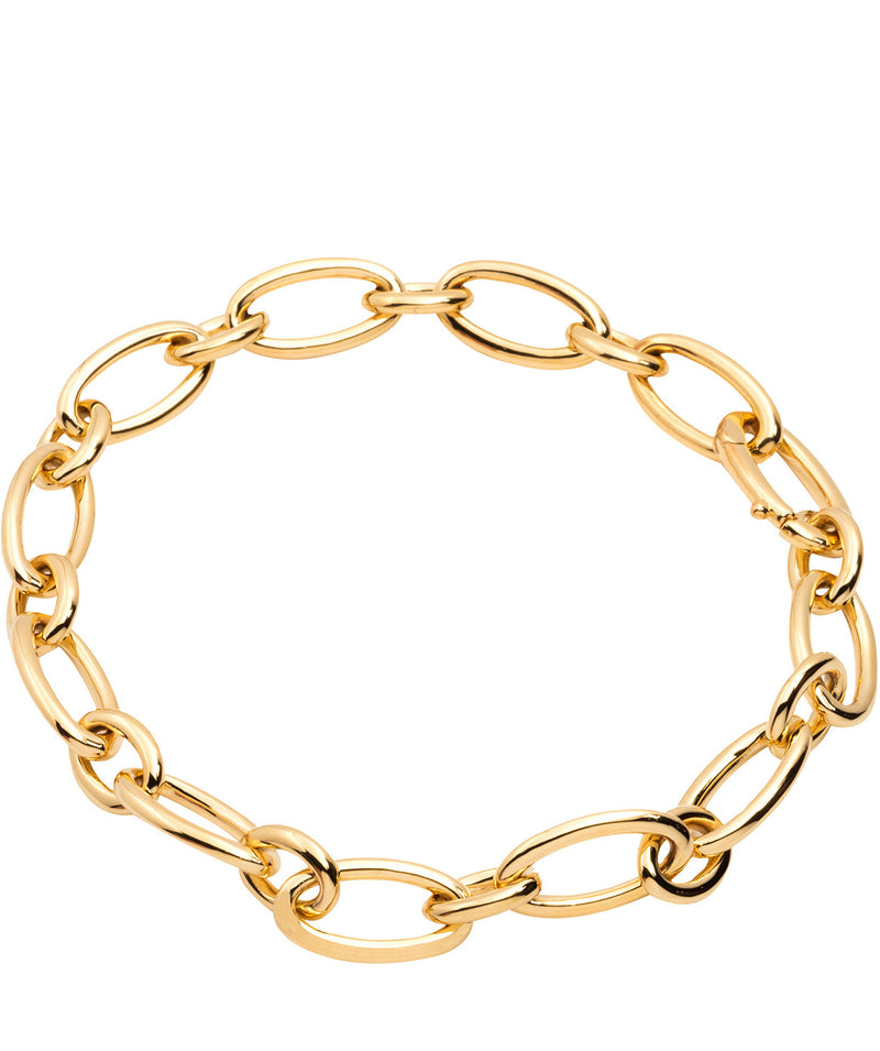 Gift Packaged 'Amalia' 18ct Yellow Gold Plated 925 Silver Link Bracelet