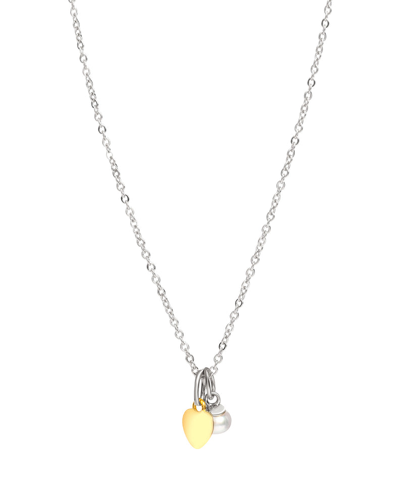 Gift Packaged 'Fonseca' 18ct Yellow Gold Plated & 925 Silver with Freshwater Pearl Necklace