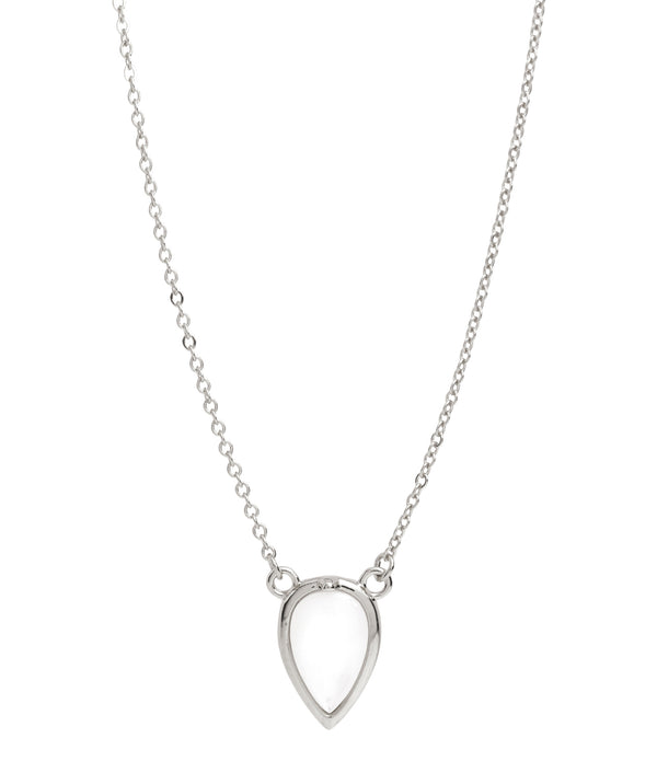 Gift Packaged 'Hesse' 925 Silver & Shell Pearl Necklace
