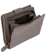'Tori' Taupe Grey Leather Purse image 6