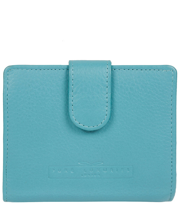 'Tori' Turquoise Leather Purse image 1