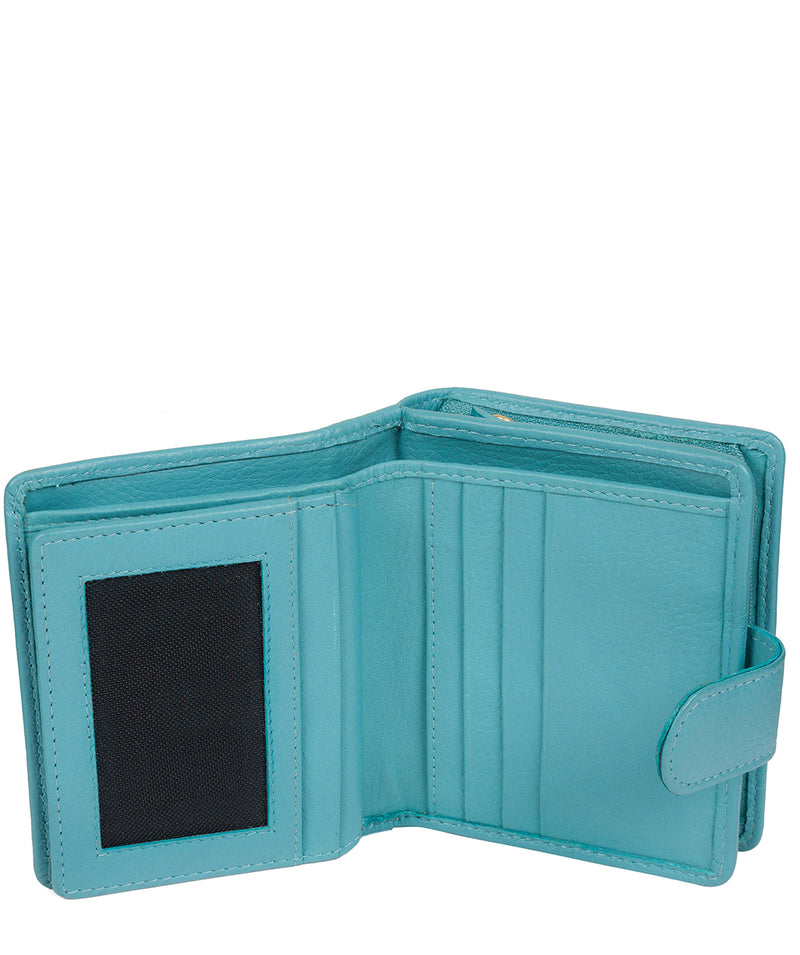 'Tori' Turquoise Leather Purse image 5