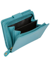 'Tori' Turquoise Leather Purse image 6