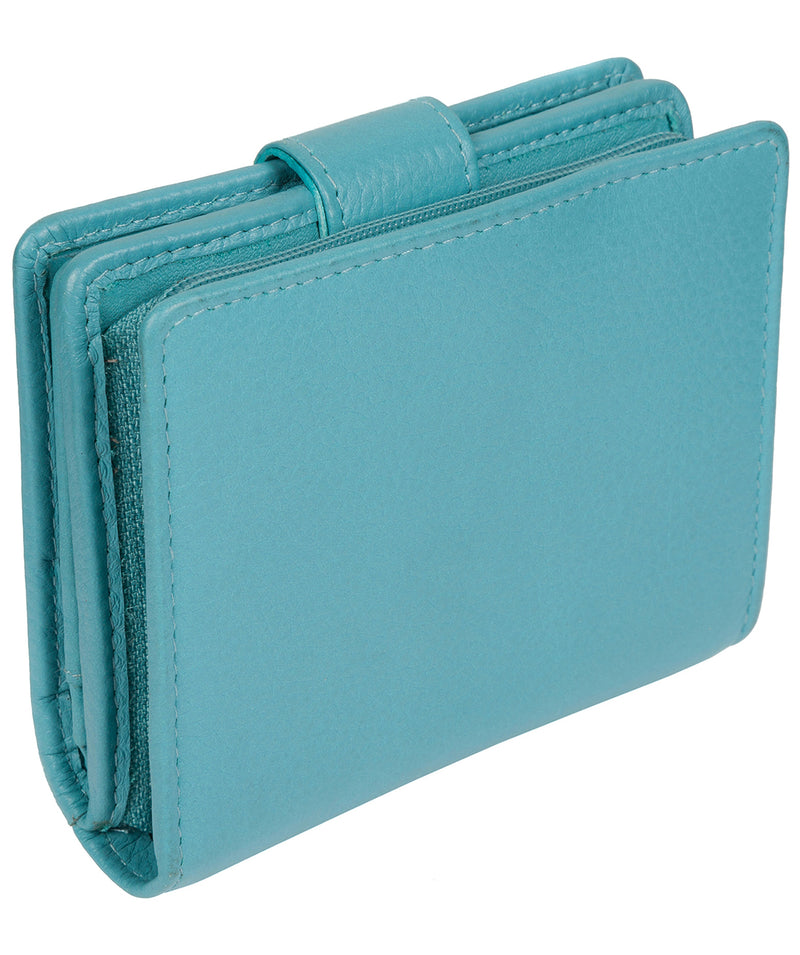 'Tori' Turquoise Leather Purse image 7