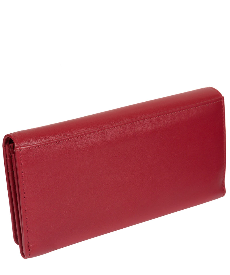 'Honor' Light Red Leather Purse image 6