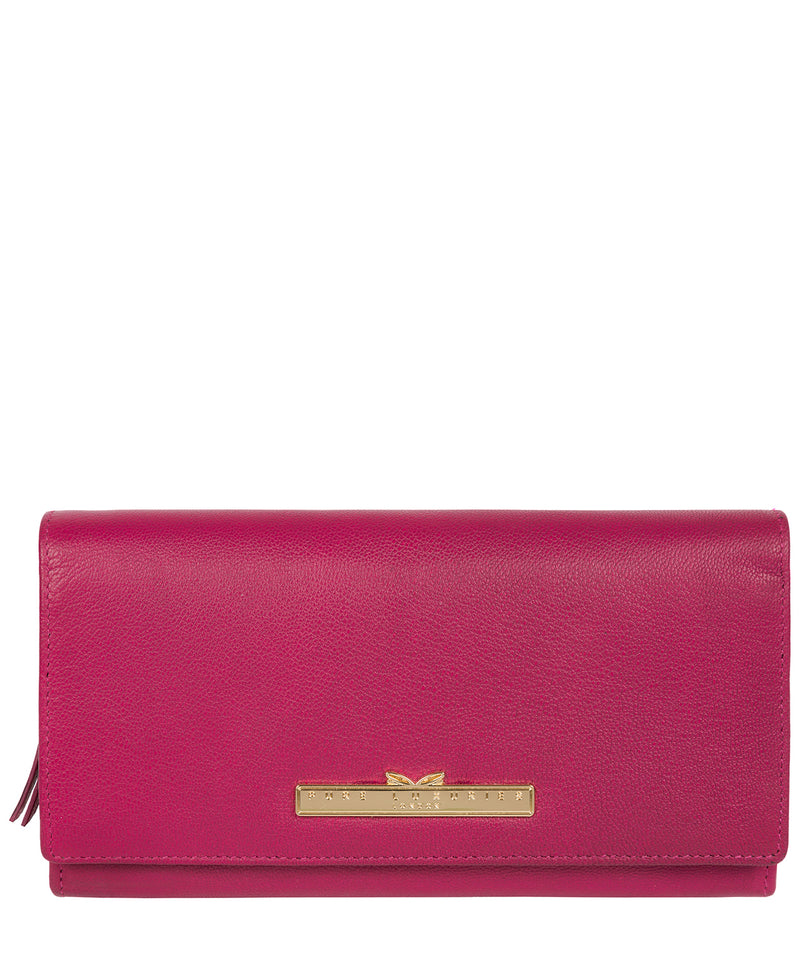 'Kite' Sangria Leather Tri-Fold Purse image 1