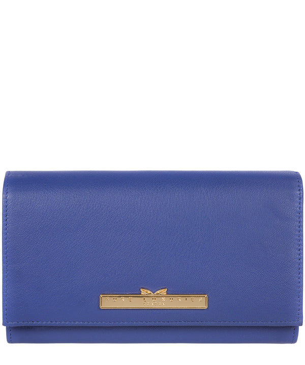 'Finch' Royal Blue Leather Bi-Fold Purse image 1