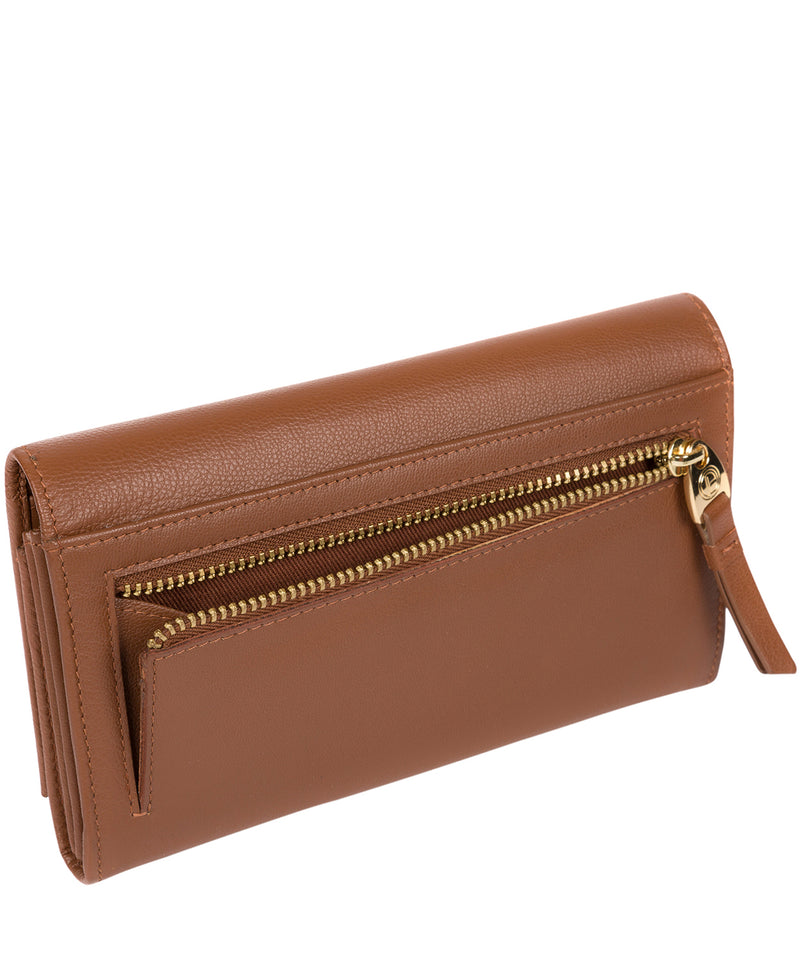 'Finch' Tan Leather Bi-Fold Purse