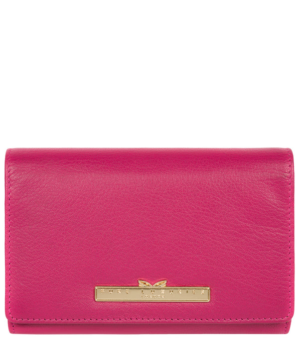 'Swift' Sangria Leather Tri-Fold Purse image 1