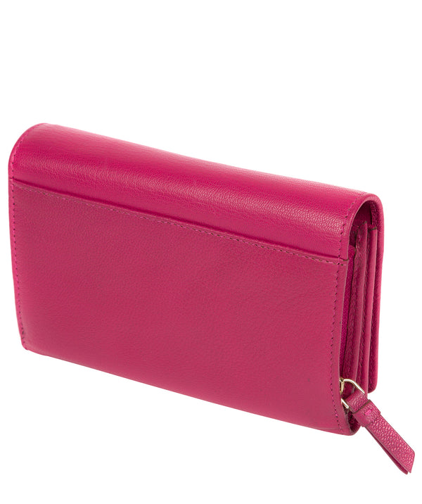 'Swift' Sangria Leather Tri-Fold Purse image 3