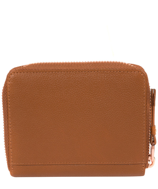 'Piper' Tan Leather Purse image 3