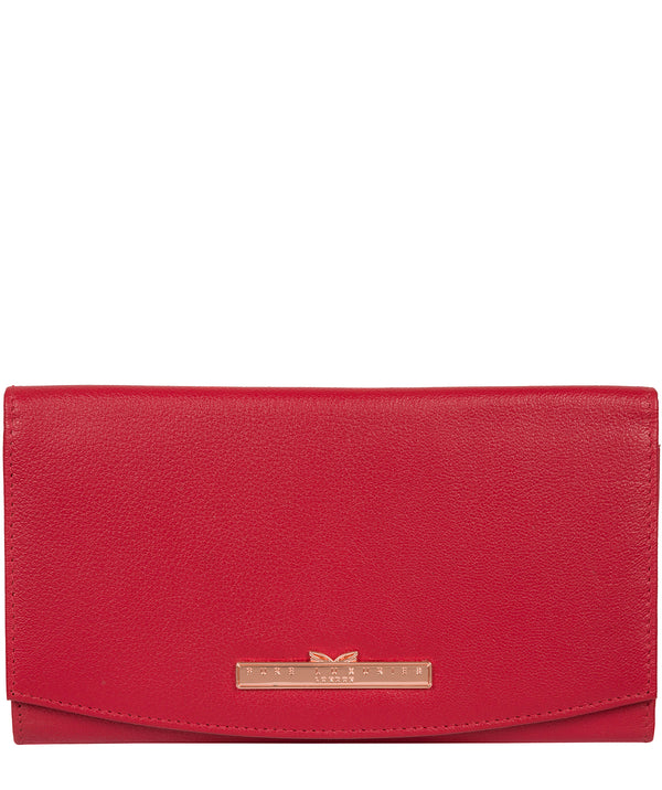 'Lark' Barbados Cherry Leather Purse image 1