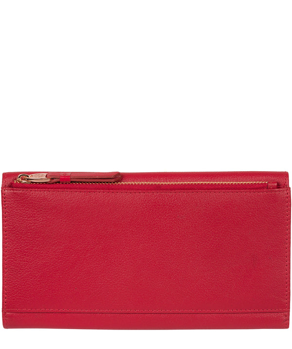 'Lark' Barbados Cherry Leather Purse image 3