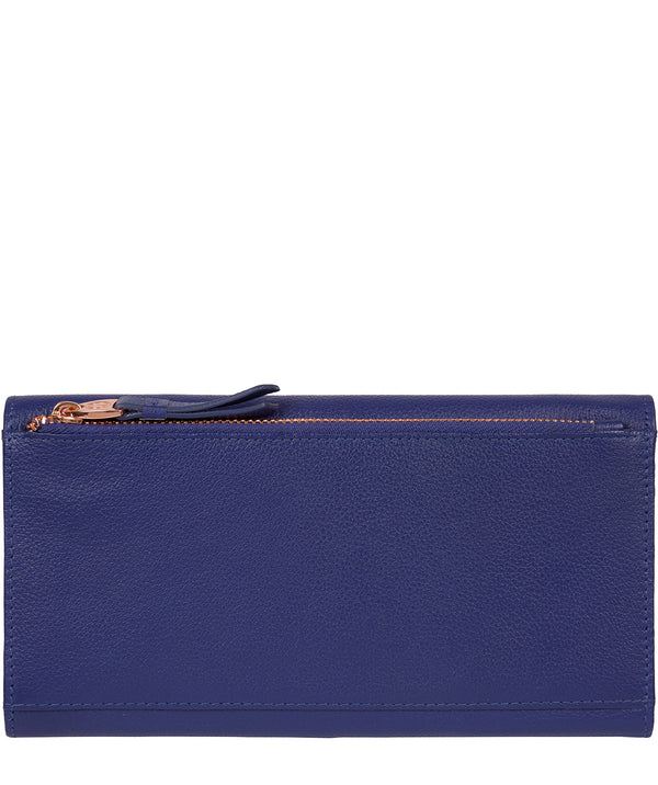 'Lark' Navy Blue Leather Purse image 3
